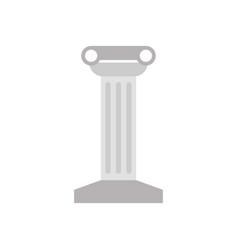 temple column icon vector image