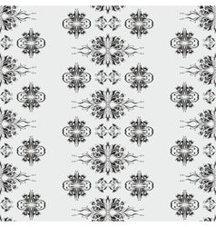Wallpaper pattern damask style vector