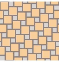 Yellow tiles seamless pattern vector