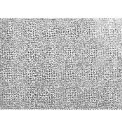 Gritty halftone texture overlay vector image vector image