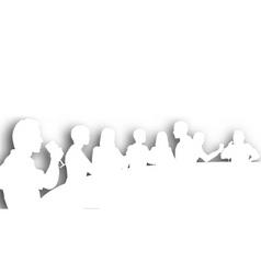 wine bar cutout vector image vector image