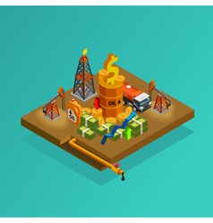 1607i201059Fm003c6oil industry isometric2 vector image