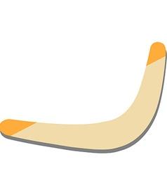 Boomerang vector image