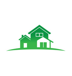 Buildings house real estate vector