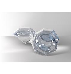 Cut of gemstones eight cut vector