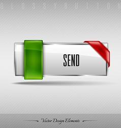 Design element Business web button for website or vector