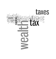 How to minimize your taxes on wealth vector