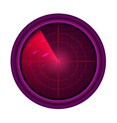 Military radar vector