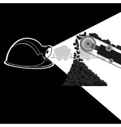 Mine-2 vector image