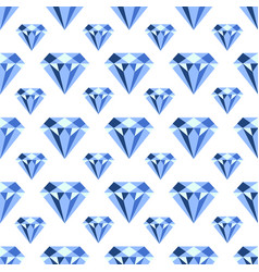 pattern with diamonds seamless can vector image