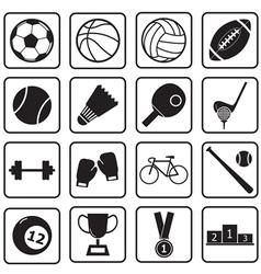 sport icon vector image