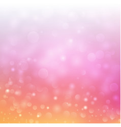 festive bokeh background with blurred defocused vector image