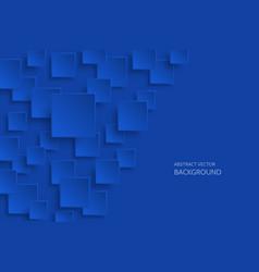 dark blue modern abstract background vector image