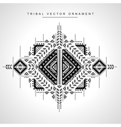 Tribal ethnic Mexican African ornament vector image vector image