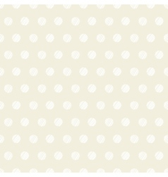 Vintage polka dots set of four seamless patterns vector image vector image