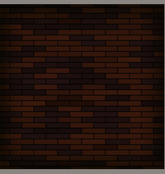 brick wall background abstract red brick pattern vector image