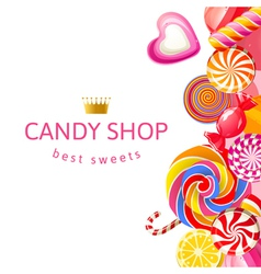 candy shop2 vector image
