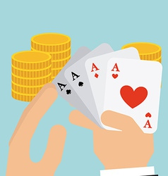casino game vector image