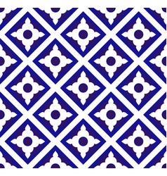 Ceramic thai pattern vector