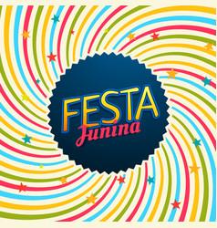 Festa junina carnival festival vector