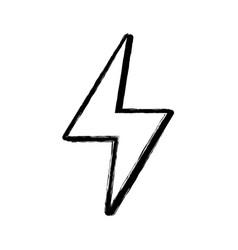 figure energy hazard symbol design image vector image