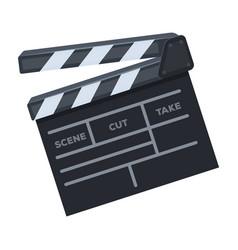 Movie crackermaking movie single icon in cartoon vector