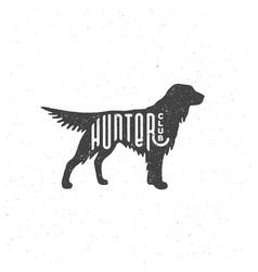 setter logo vector image
