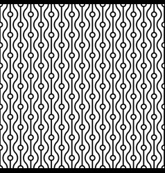 Vertical arrangement geometric shapes vector
