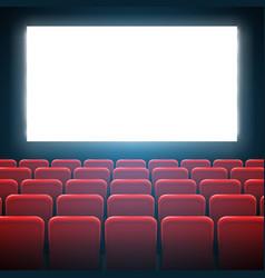 creative of movie cinema vector image