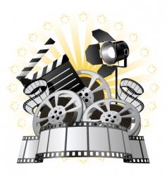 Film premiere vector