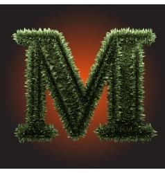 Grass figure vector