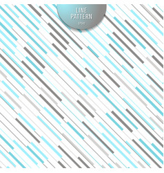 abstract stripe blue and gray diagonal lines vector image