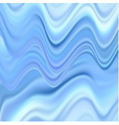 blue white marble abstract background vector image