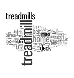 How to shop for a treadmill vector
