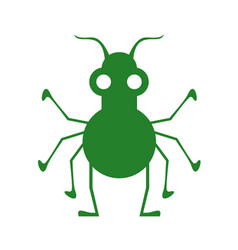 imaginative insect vector image