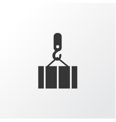 Overhead crane icon symbol premium quality vector