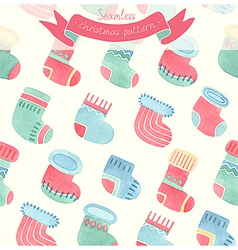 Pattern socks vector