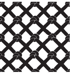 seamless background with knots vector image