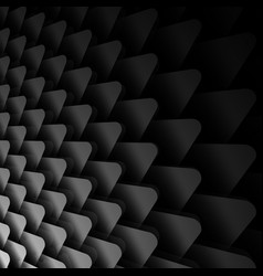 black and white background with triangles vector image