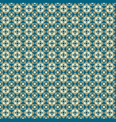 seamless pattern with triangles and squares vector image vector image