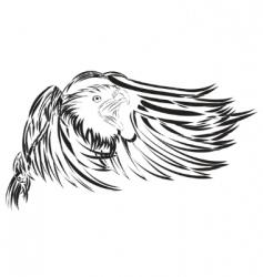 vector eagle vector image vector image