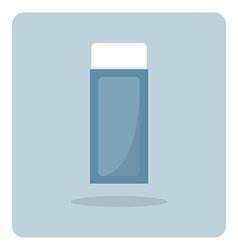 flat icon eraser vector image vector image
