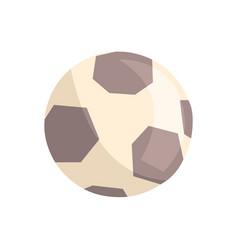 soccer ball or football ball cartoon vector image vector image