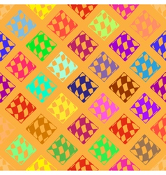 Abstract geometric colorful seamless pattern for vector image