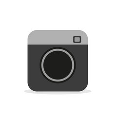 camera - icon camera video and photo hipster vector image