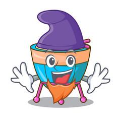 Elf character cartoon percussion musical vector