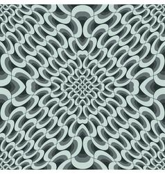 geometric petals grid vector image