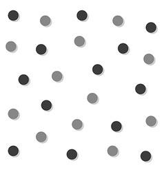 Gray Black Circle Abstract White Background vector