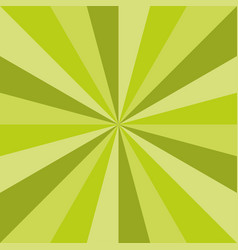 Green sunburst spring art texture design vector