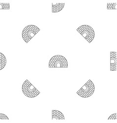 igloo pattern seamless vector image